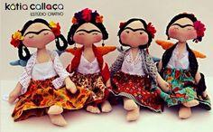 Doll Frida - Inspiração dolls