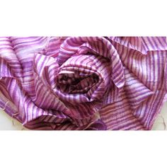Silk shawl-Handwoven-Hand dyed-Batik-Raw silk-Wedding accessories-Pure... (€25) ❤ liked on Polyvore featuring accessories, scarves, lightweight scarves, purple shawl, silk scarves, pure silk scarves and batik scarves