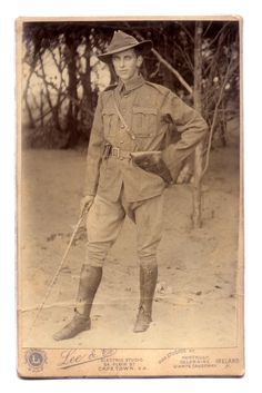 Soldiers of the Queen - Boer War Officer, Cape Town