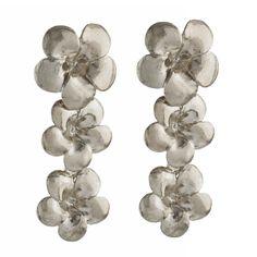 Frangipani Flower Earrings