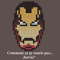 Iron Man ... Jarvis? Pixel Art