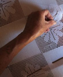 Renda labirinto de Icapuí (CE) | Promoart - Programa de Promoção do Artesanato de Tradição Popular