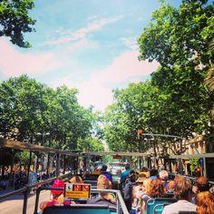 Hop on Hop off city tour in Barcelona, Spain