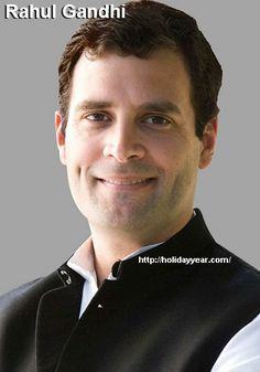 Jun 19 - Rahul Gandhi, Indian politician and member of the Parliament of India was Born Today. For more famous birthdays http://holidayyear.com/birthdays/