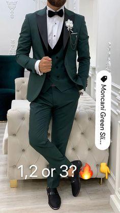 Suit Fashion, Mens Fashion, Casual Outfits, Men Casual, Formal Suits, Suit Vest, Men's Suits, Groom Style, Black Suits