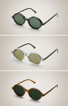 Doc sunglasses, Han Kjøbenhavn (yes, all three.)