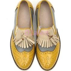 womens oxford shoes yellow - Google Search