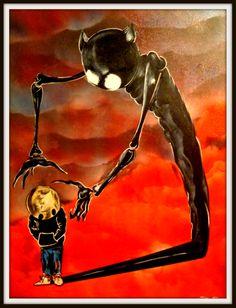#fear #selfdoubt #shadows #demons #childabuse #Halloween #skull #tattoofacemiller #scary