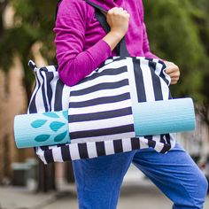 This DIY Gym Bag Will Give Your Workout a Serious Upgrade | Brit + Co