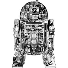 Epic R2-D2 is a T Shirt designed by StarWars to illustrate your life and is available at Design By Humans
