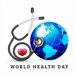 World Heart Day Background poster.