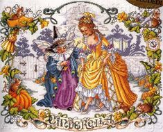 Another of the SurLaLune fairy tales cross stitches, pattern by Sandy Orton - just ordered this one!