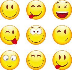 Emoji Emoticonos estado de ánimo cara sonriente lágrimas Joy Divertido Etiqueta de Perro Colgante Collar Cadena