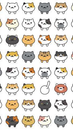 Neko cat wallpaper