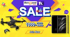 Banggood 11th Anniversary. Huge Bargains You Can't Miss!