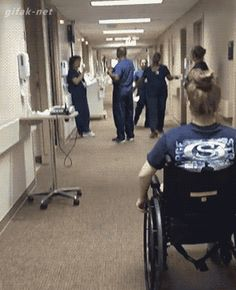 When this girl surprised her nurse after being paralyzed.