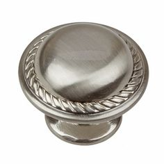 Shop for GlideRite Satin Nickel Round Rope Cabinet Knobs (Pack of Get free delivery On EVERYTHING* Overstock - Your Online Home Improvement Shop! Get in rewards with Club O! Art Cabinet, Kitchen Cabinet Knobs, Kitchen Hardware, Cabinet Hardware, Kitchen Drawers, Kitchen Pulls, Old Cabinets, Kitchen Cabinets, Quality Cabinets