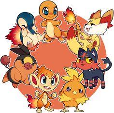 Pokemon Fire Starter