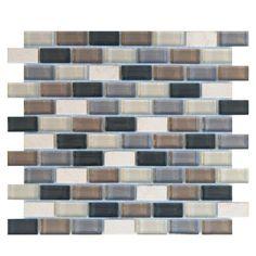 Glass stone mosaic tile