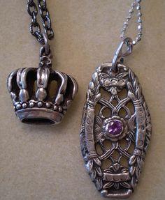 Silver Art Clay Pendants