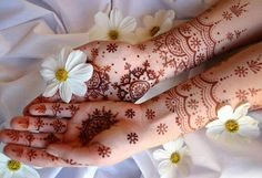 Simple Arabic Mehndi Designs For Hands   Easyday