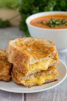 Vegan Grilled Cheese - 14 Vegan Recipes That Cheese Addicts Will Love - http://ChooseVeg.com