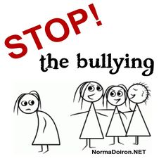 """Here's what Dr Phil says:  """"When your child is bullied at school, go to the authorities at school, speak with the teachers. If that doesn't work, MAKE NOISE! Do NOT let the bullying go on, thinking there is NOTHING YOU CAN DO.  KEEP showing up at school until the BULLYING has been addressed and UNTIL the BULLYING STOPS.  Take a stand and do NOT STOP BEFORE it stops."""" Read more... http://normadoiron.net/what-to-do-about-bullying-in-school/"""