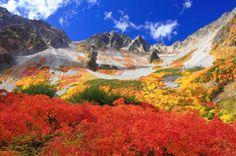 一生に一度は見たい!涸沢カールの紅葉・登山情報【2018年】|YAMA HACK Beautiful Scenery, Japan Travel, Climbing, Japanese, Adventure, Mountains, Landscape, Amazing, Anime