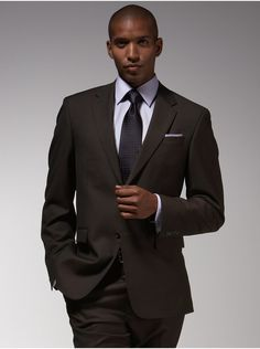 Kenneth Cole Brown Suit - Men's Wearhouse