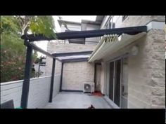 "Retractable Roof Pergola ""Top Star"" - Installation - YouTube"