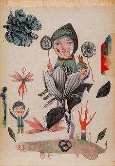 Inca Pan watercolour