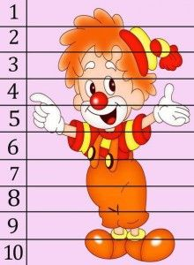 The best crafts Preschool Learning Activities, Holiday Activities, Kids Learning, Cool Numbers, Blank Coloring Pages, Math Night, Teaching Numbers, Number Puzzles, Send In The Clowns
