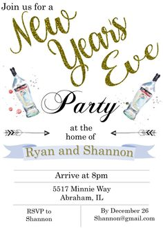 New Year Party Invitation Template Unique New Year S Eve Party Invitations 2018 House Party Invitation, Birthday Party Invitations Free, Vegas Party, Nye Party, Casino Theme Parties, Casino Party, Graduation Invitation Wording, New Years Eve Invitations, Martin Scorsese