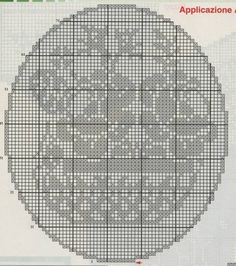 World crochet: Napkin 11