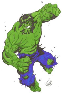 #Hulk #Fan #Art. (The Incredible Hulk colour) By: Tommy Castle. (THE * 5 * STÅR * ÅWARD * OF: * AW YEAH, IT'S MAJOR ÅWESOMENESS!!!™)[THANK Ü 4 PINNING!!!<·><]<©>ÅÅÅ+(OB4E)