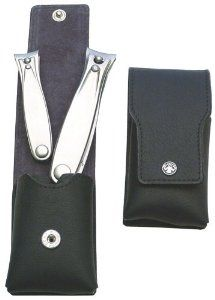 Merkur Brushed Steel Nail Clipper Set by Merkur. $92.40. manicure etui. nail clipper. Dovo. manicure set. 2 Nail clipper in leather Case
