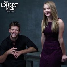 Go behind the scenes of The Longest Ride photo shoot with Scott Eastwood and Britt Robertson!