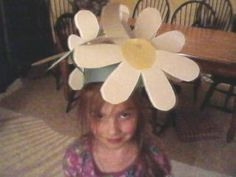 #Daisy Head Maisy #Hat and Tutorial from KCC Dr. Suess