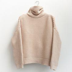 figtny.com | ZARA high neck sweater - bisque