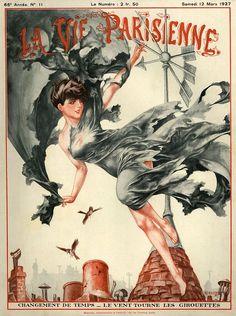 Illustration by Cheri Herouard For La Vie Parisienne March 1927