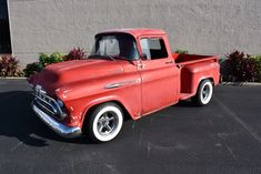 Awesome Amazing 1957 Chevrolet Other Pickups Step-Side 1957 Chevrolet 3100 Step-Side 0 Red Pick-Up 350CI V8 Automatic 2017 2018