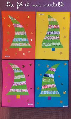 Du fil et mon cartable : Décorations de Noël