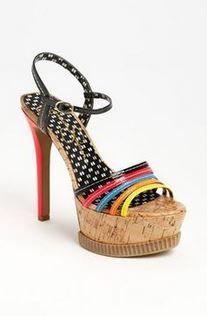 Jessica Simpson #shoes #heel #platform #sparkle #rhinestone