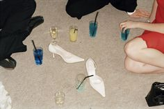 """primary-objects: """" Students at a party, 2005 by Martin Parr """""""