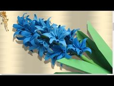 Origami : Pivoine, fleur de printemps - YouTube