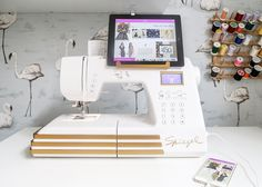 Spiegel 60609 Sewing Machine Review - Such a fabulous and beautiful machine! :)