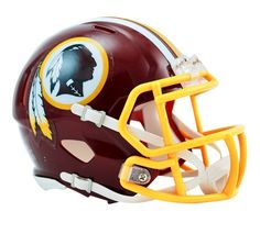 3186febd1 WASHINGTON REDSKINS Nfl Football Helmets