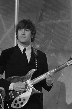 """John was sometimes known as the """"Chief Beatle"""". He had a certain presence that made people perceive him as the leader. That's why they're still known """"John, Paul, George and Ringo"""" to this day. That was the Beatles pecking order as the public saw them! Beatles Love, Les Beatles, John Lennon Beatles, Beatles Quotes, Julian Lennon, Beatles Songs, Liverpool, The Quarrymen, El Rock And Roll"""