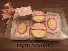 baptism cookies Baptism Cookies, Facebook Sign Up, Menu, Sweets, Desserts, Food, Menu Board Design, Sweet Pastries, Tailgate Desserts