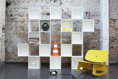 Chequer 14 : Cupboards & shelving by Dominik Lutz Industrial Design